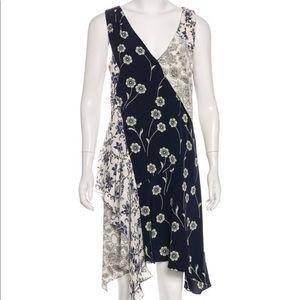 Derek Lam 10 Crosby asymmetrical hem dress
